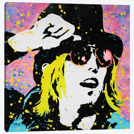 Tom Petty Canvas Print #BAE32} by MR BABES Canvas Art