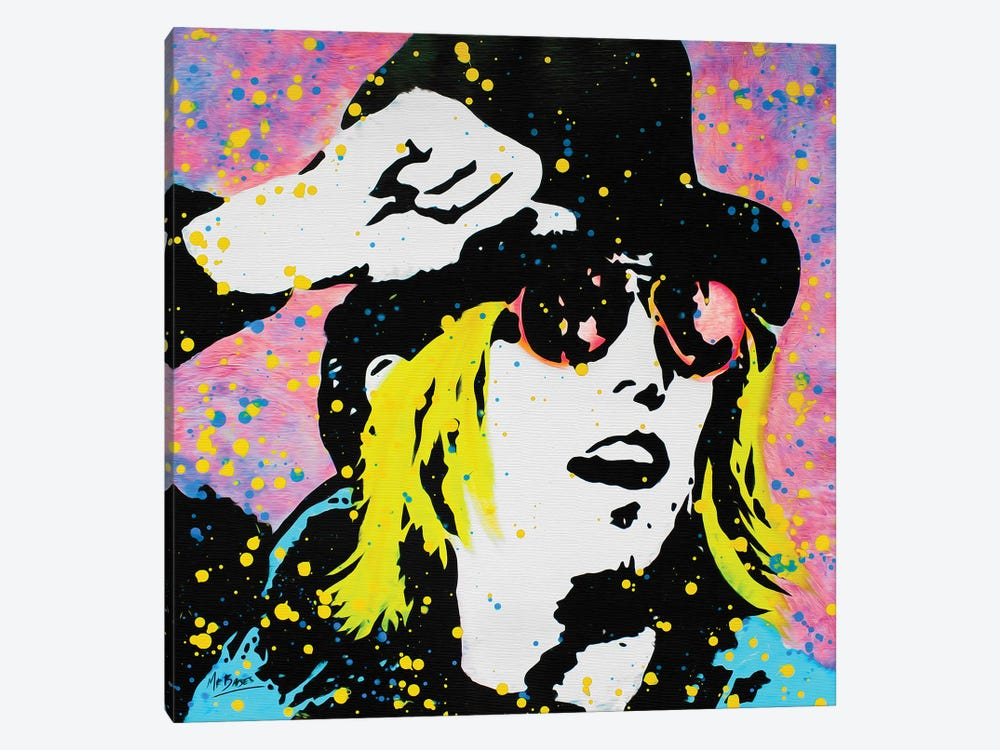 Tom Petty by MR BABES 1-piece Canvas Art Print
