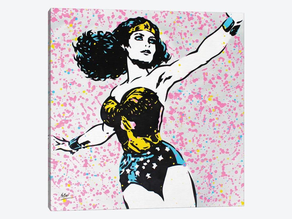 Wonder Woman by MR BABES 1-piece Canvas Wall Art
