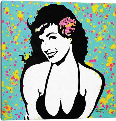 Bettie Page Canvas Art Print