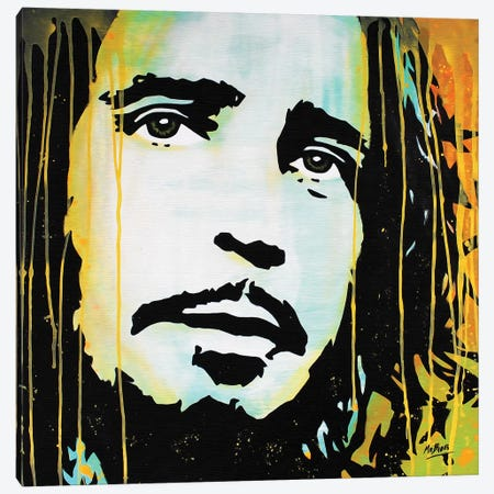 Chris Cornell Canvas Print #BAE5} by MR BABES Canvas Print