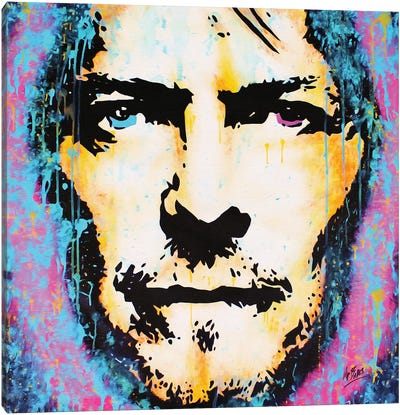 David Bowie: Legend Canvas Art Print