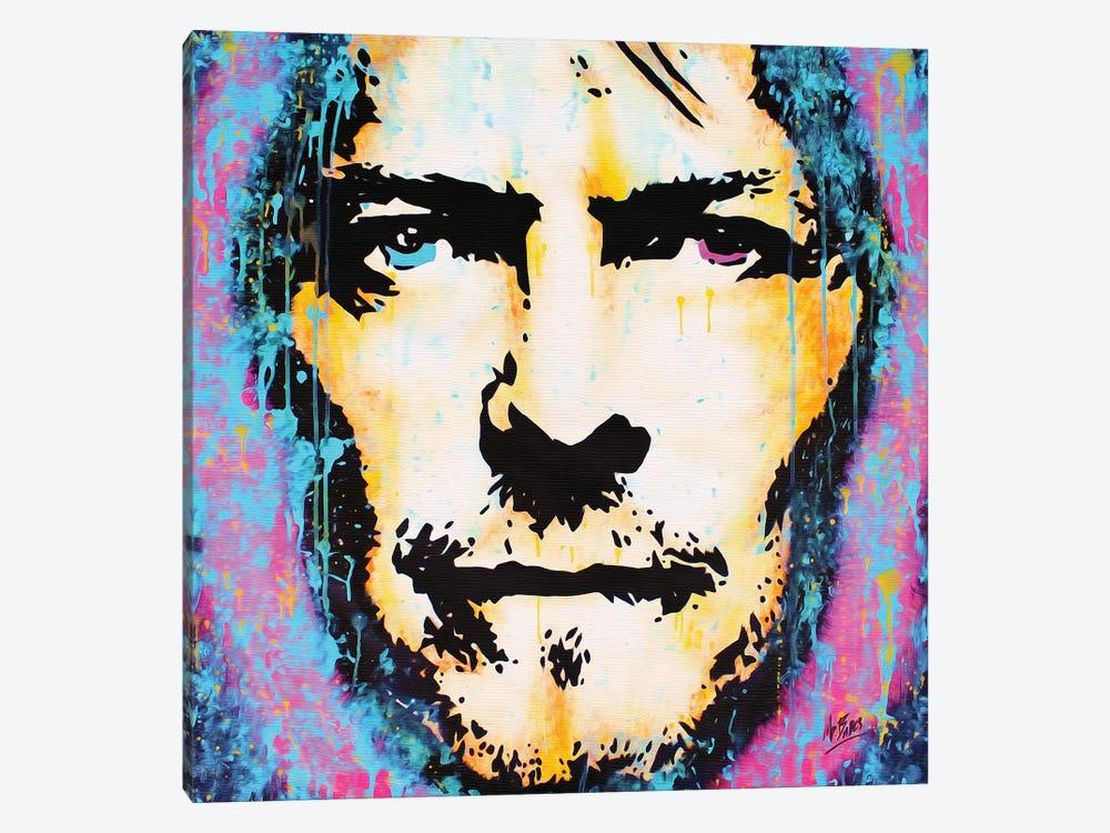 David Bowie: Legend by MR BABES 1-piece Canvas Artwork
