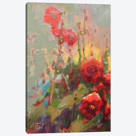 Hannah's Cherry Bomb Canvas Print #BAF3} by Beth A. Forst Art Print