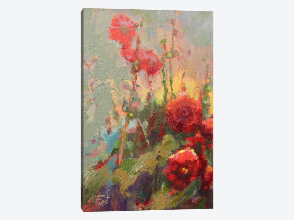 Hannah's Cherry Bomb by Beth A. Forst 1-piece Canvas Print