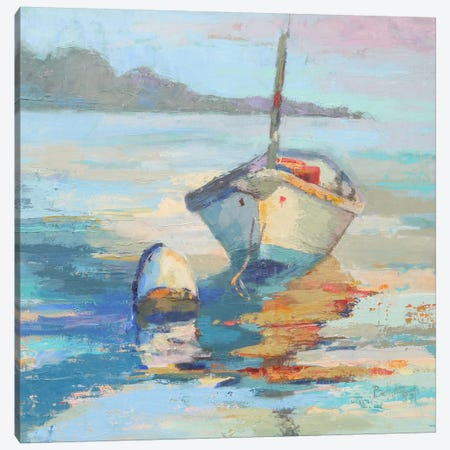 Monhegan Island Taxi Canvas Print #BAF4} by Beth A. Forst Canvas Artwork
