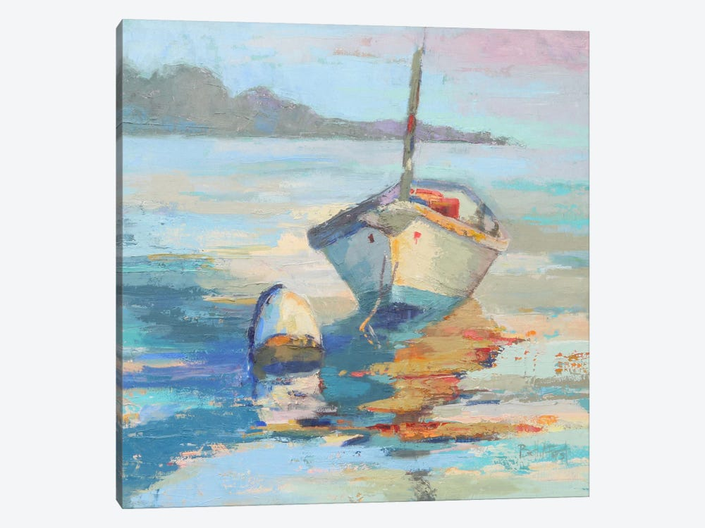 Monhegan Island Taxi by Beth A. Forst 1-piece Canvas Artwork