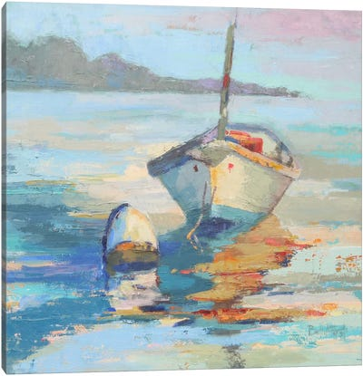 Monhegan Island Taxi Canvas Art Print