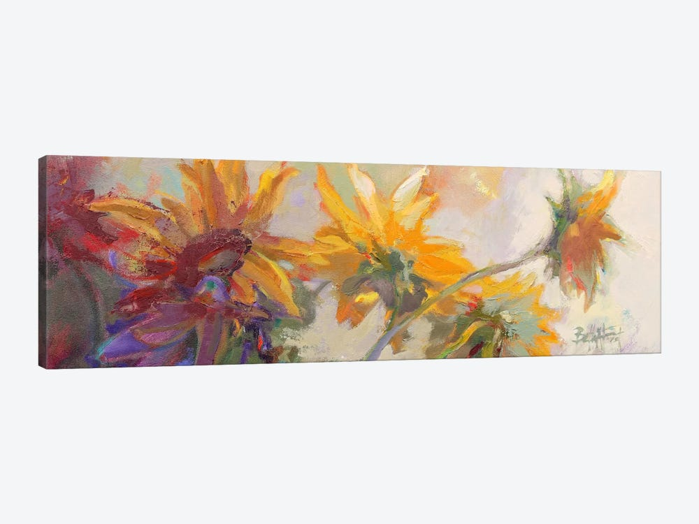 Three Long Blossoms by Beth A. Forst 1-piece Canvas Wall Art
