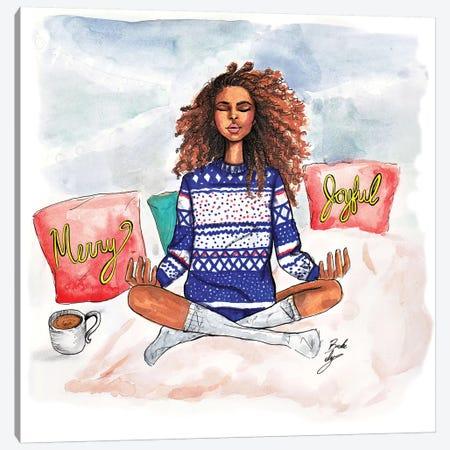 Holiday Zen Canvas Print #BAH11} by Brooke Ashley Canvas Print