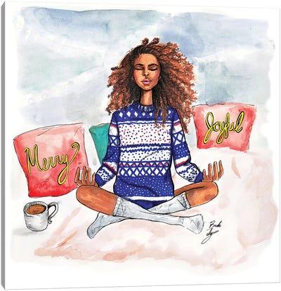 Holiday Zen Canvas Art Print