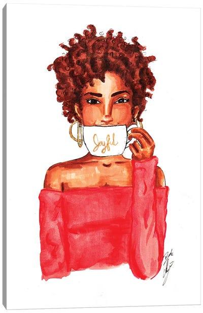 Joyful Mug Canvas Art Print