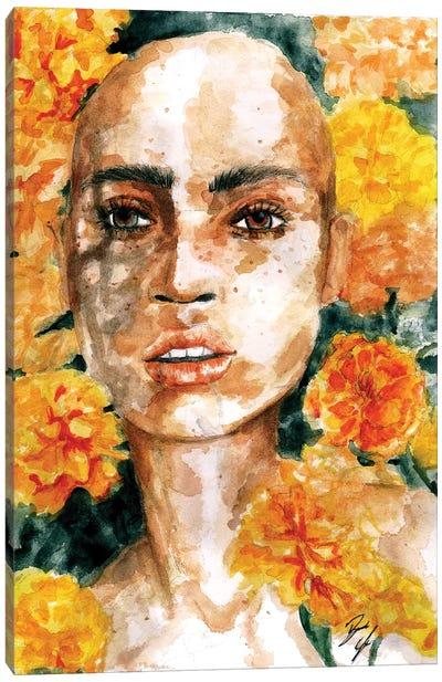 Marigold  Canvas Art Print