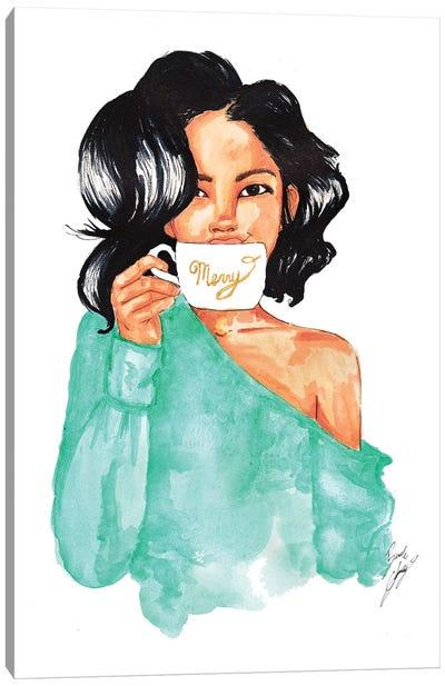 Merry Mug Canvas Art Print