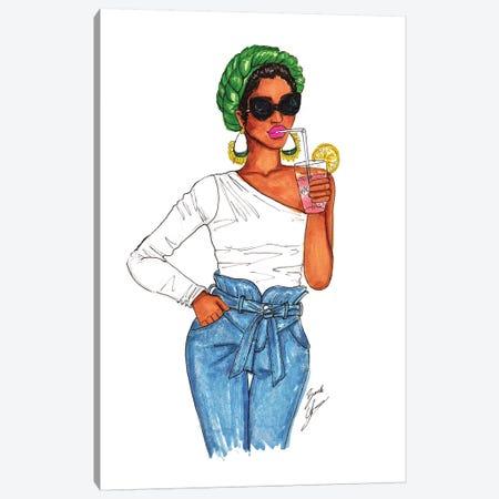 Pink Lemonade Canvas Print #BAH20} by Brooke Ashley Canvas Wall Art