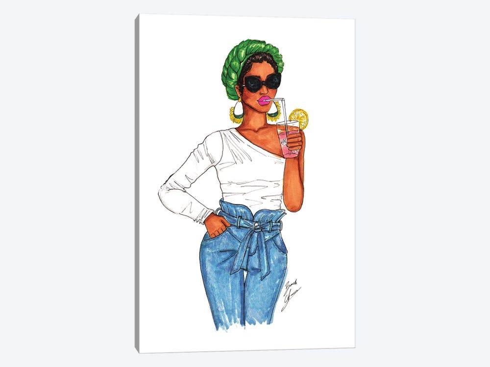 Pink Lemonade by Brooke Ashley 1-piece Canvas Art Print