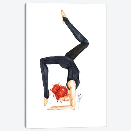 Scorpion Pose Canvas Print #BAH23} by Brooke Ashley Canvas Art