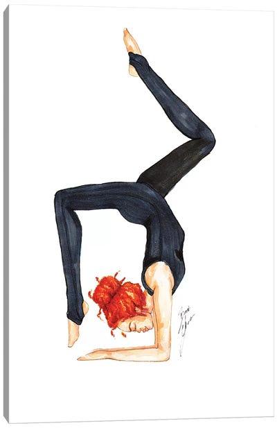 Scorpion Pose Canvas Art Print