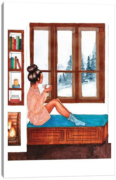 Snowed In Canvas Art Print