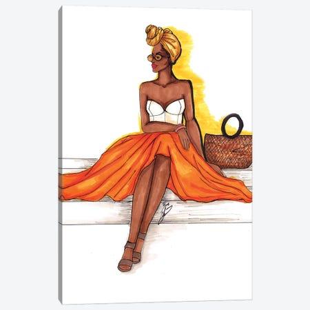 Summer Glow Canvas Print #BAH28} by Brooke Ashley Canvas Wall Art