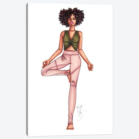 Tree Pose Canvas Print #BAH33} by Brooke Ashley Canvas Art Print