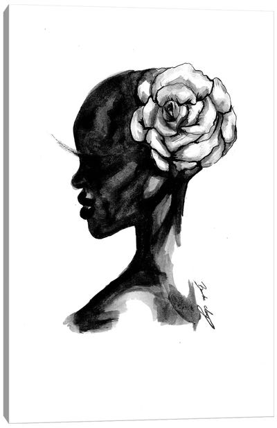 Wild Flower Canvas Art Print