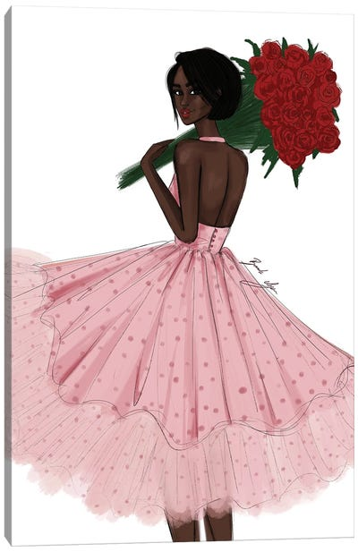Fresh Roses Canvas Art Print
