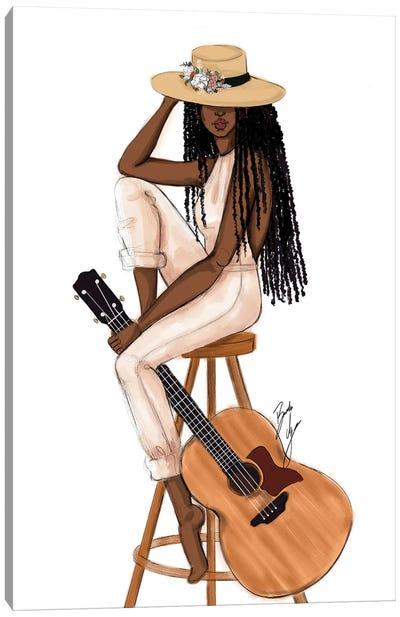 The Musician Canvas Art Print