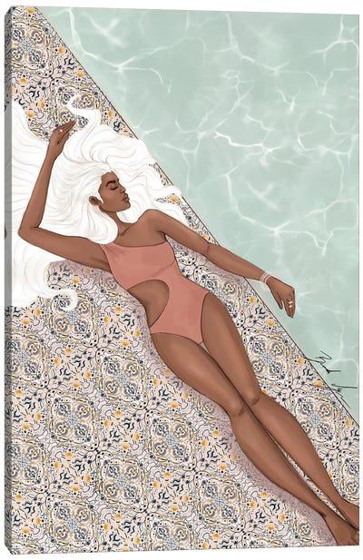 Basking In Sunlight Canvas Art Print