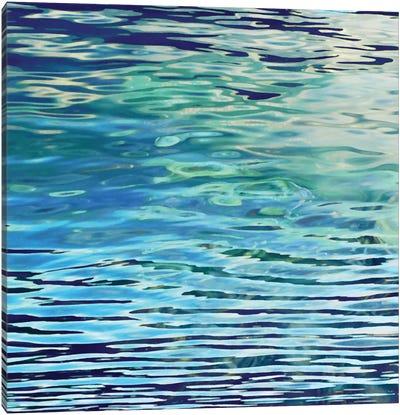 Aqua Reflections Canvas Print #BAR1