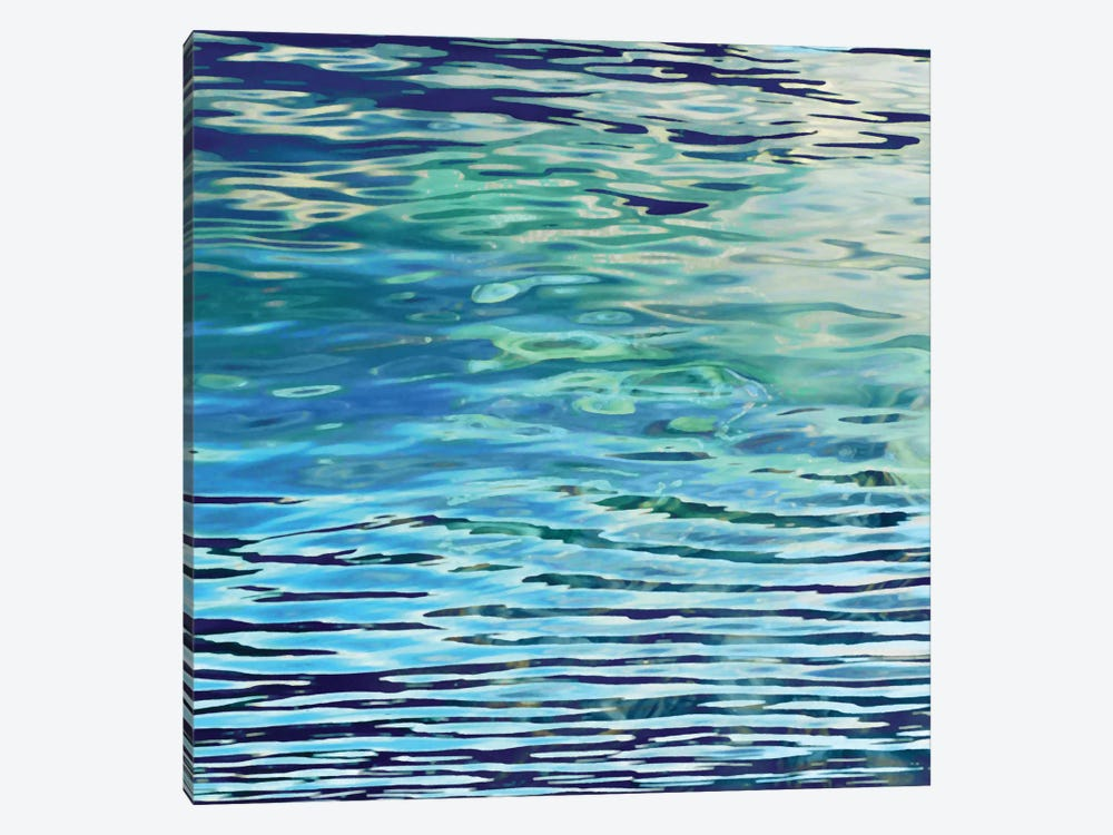 Aqua Reflections by Michael Barrett 1-piece Canvas Art Print