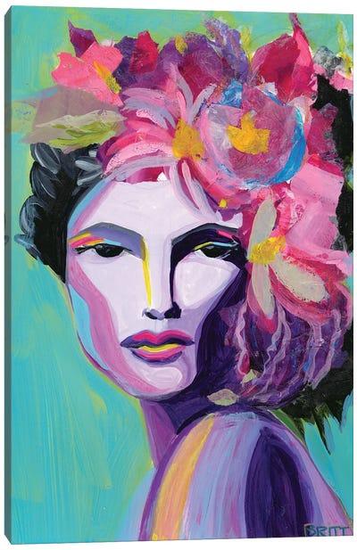 Viven Canvas Art Print