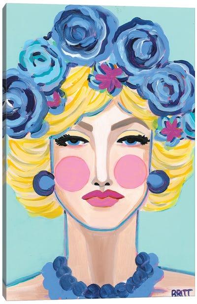 Jean Canvas Art Print
