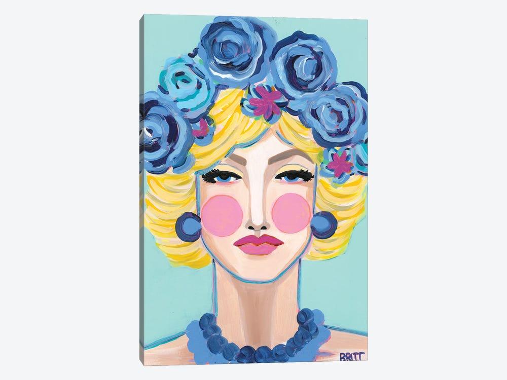 Jean by Britt Atkinson 1-piece Canvas Art