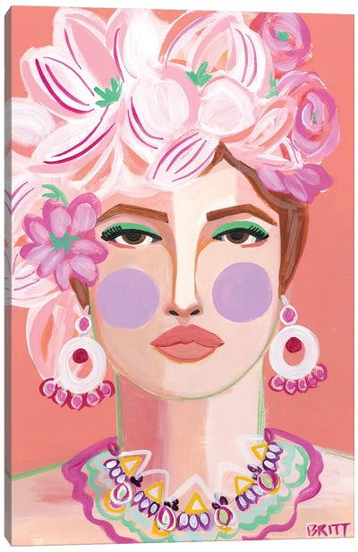 Fiona Canvas Art Print