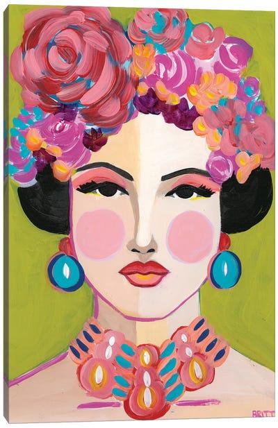 Kristi Canvas Art Print