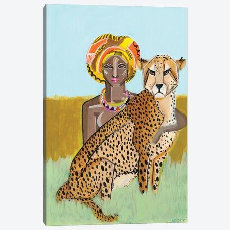 Cheeta Lover Canvas Print #BAT17} by Britt Atkinson Canvas Art