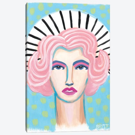 Barbra Canvas Print #BAT19} by Britt Atkinson Canvas Print