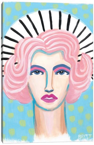 Barbra Canvas Art Print