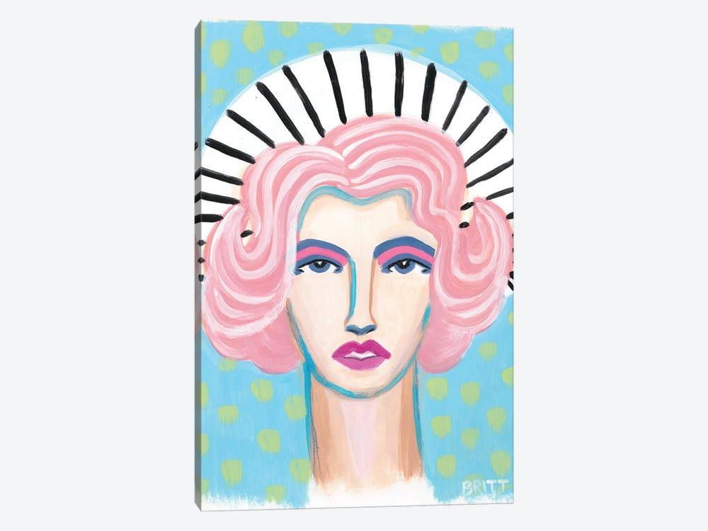 Barbra by Britt Atkinson 1-piece Canvas Art