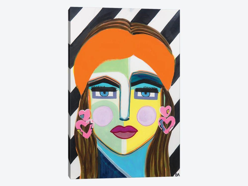 My 80's Lady by Britt Atkinson 1-piece Canvas Art Print
