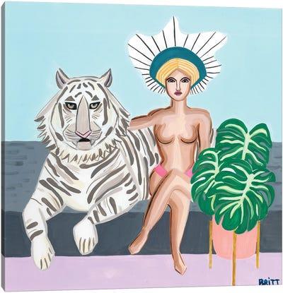 Bengal Lover Canvas Art Print