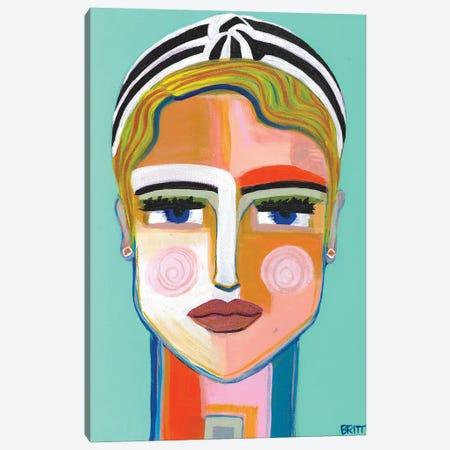 Meg Canvas Print #BAT27} by Britt Atkinson Art Print