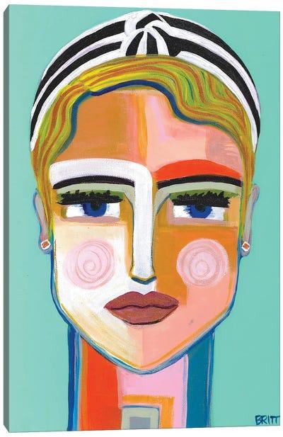Meg Canvas Art Print