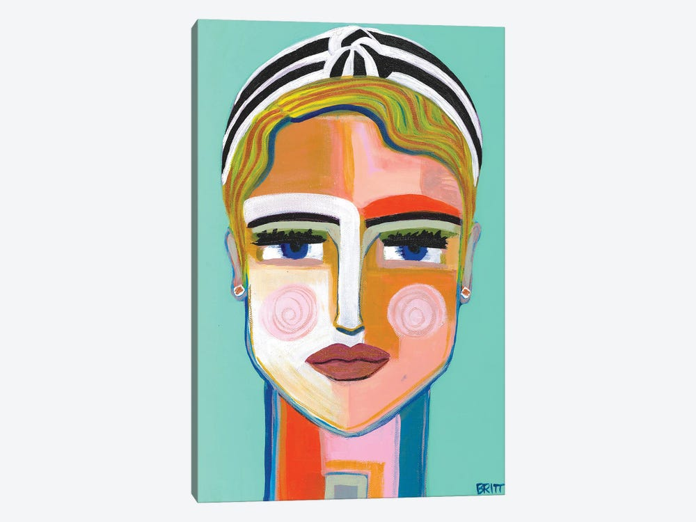 Meg by Britt Atkinson 1-piece Canvas Art Print