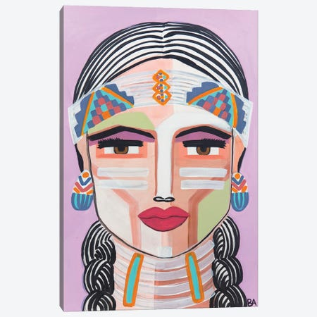 Pocahontas Canvas Print #BAT3} by Britt Atkinson Canvas Wall Art