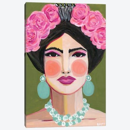 Frida Canvas Print #BAT8} by Britt Atkinson Canvas Artwork