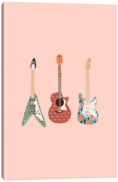 Guitars Canvas Art Print