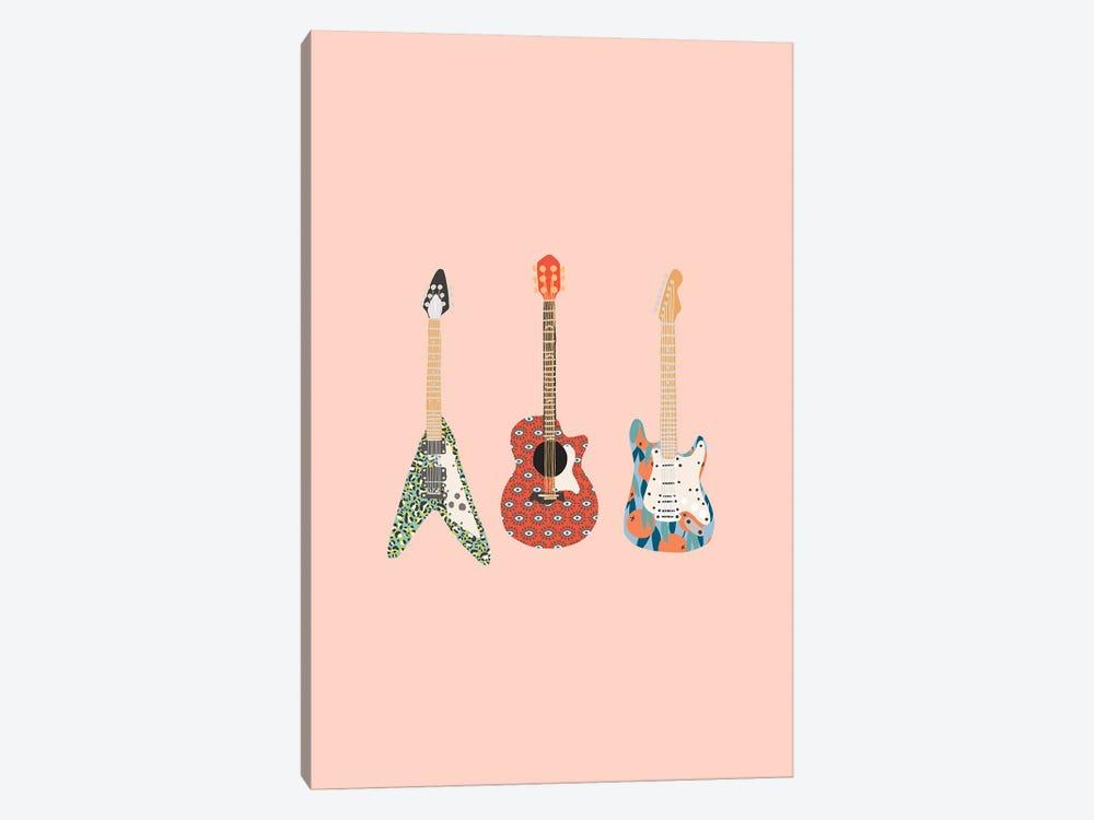 Guitars by The Beau Studio 1-piece Canvas Artwork