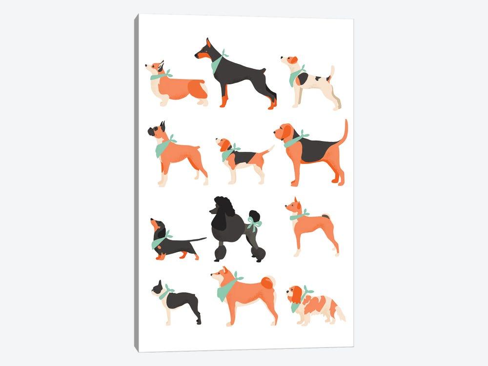 Dog Chart by The Beau Studio 1-piece Canvas Artwork